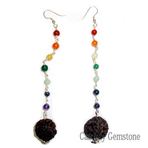 7-Chakra-Rudraksh-Earrings
