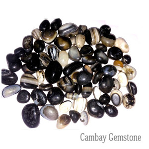 Black-Agate-Tumbled